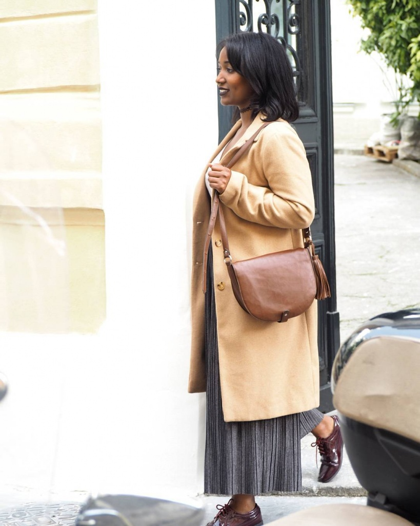 Photo par mrtchamss Manteau Newlook  Jupe culotte Bershka hellip