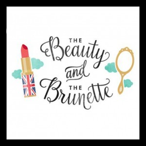 logo the beauty and the brunette